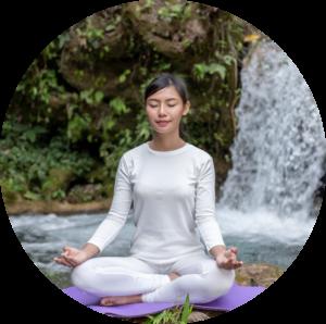 prática de meditação
