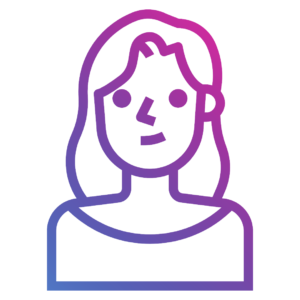 ícone menina