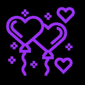 ícone corações