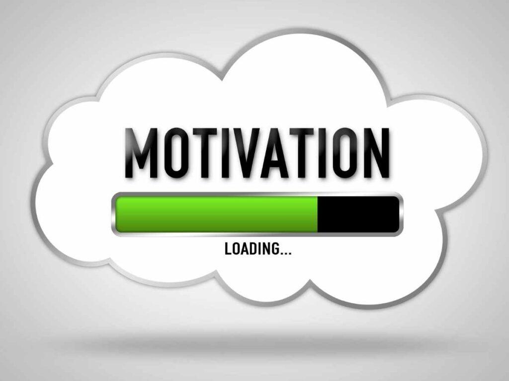 motivação carregando